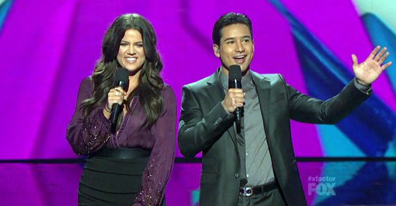 Khlo Kardashian and Mario Lopez