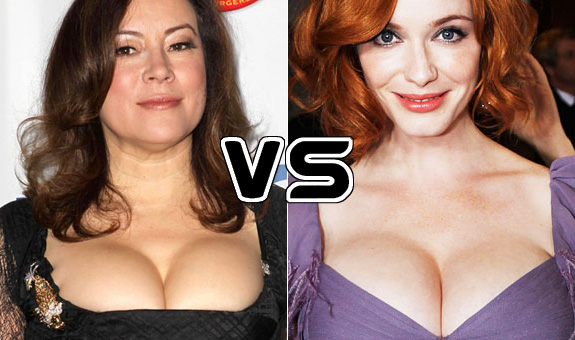 Jennifer Tilly and Christina Hendricks