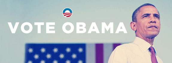 Vote for Obama today! Four more years!