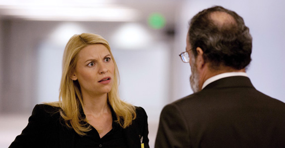 Homeland (Claire Danes and Mandy Patinkin)