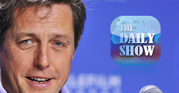 Hugh Grant is banned from 'The Daily Show'