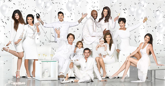 Here's the 2012 Kardashian Kristmas Kard!