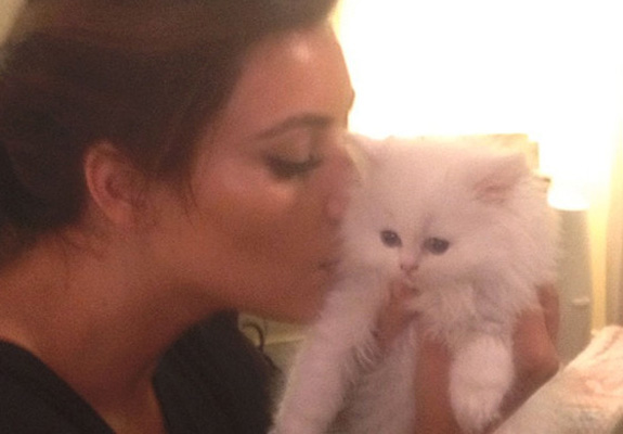 Kim Kardashian's ex-cat Mercy died
