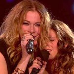LeAnn Rimes and Carly Rose Sonenclar on &#039;The X Factor&#039;