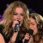LeAnn Rimes and Carly Rose Sonenclar