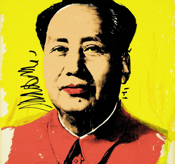 Warhol's Mao is unacceptable in China!