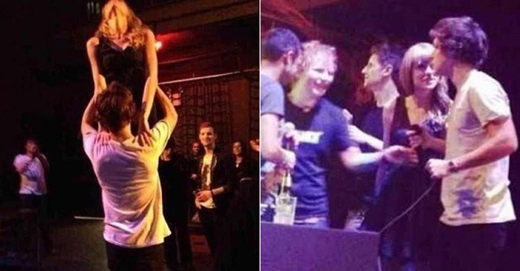 Taylor Swift and Harry Styles' relationship seems totally not staged