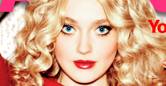 What's wrong with Dakota Fanning's face?