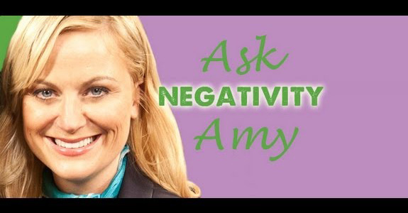 Amy Poehler: How to deal with negativity!