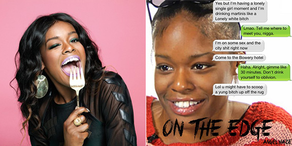 Azealia Banks and Angel Haze