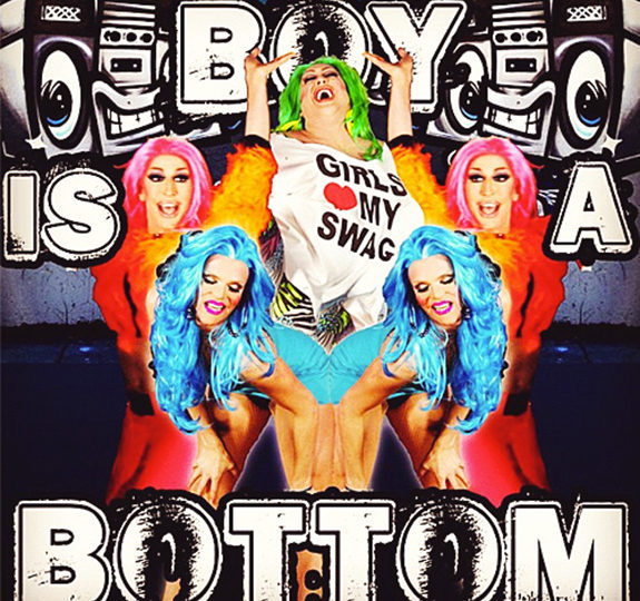 "Willam, Detox and Vicky Vox's ""Boy Is A Bottom"""