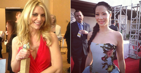 Claire Danes and Lucy Liu