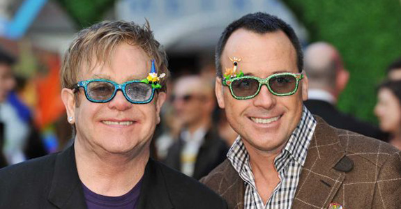 Elton John is now a father of two!