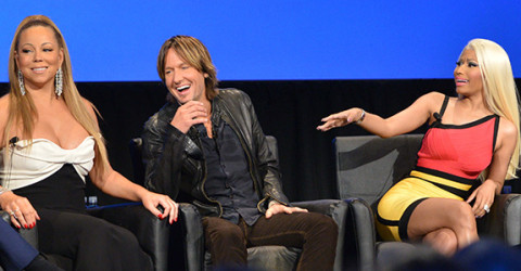 Mariah Carey, Keith Urban and Nicki Minaj