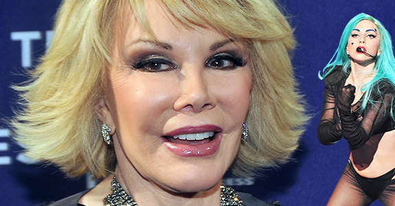 Joan Rivers to Lady Gaga: Lighten up!