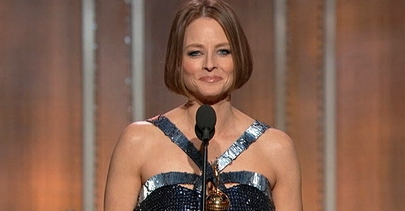 Jodie Foster's moving Golden Globes speech