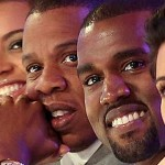 Kanye West, Beyonc, Jay-Z, Kim Kardashian
