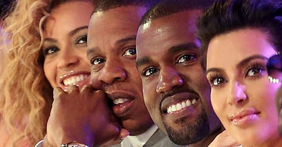 Kanye West's FAM includes Beyoncé, Jay-Z, Kim Kardashian, but not Solange!