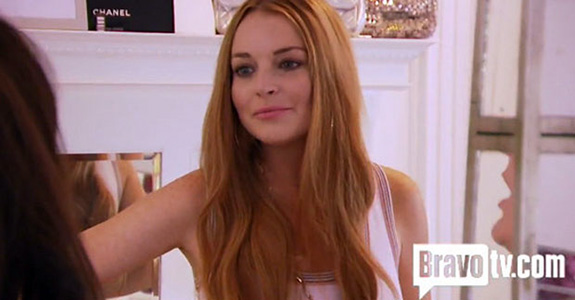 Bravo tried to get the furniture back they gave Lindsay Lohan