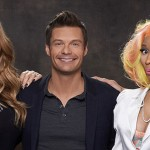 Mariah Carey, Ryan Seacrest and Nicki Minaj