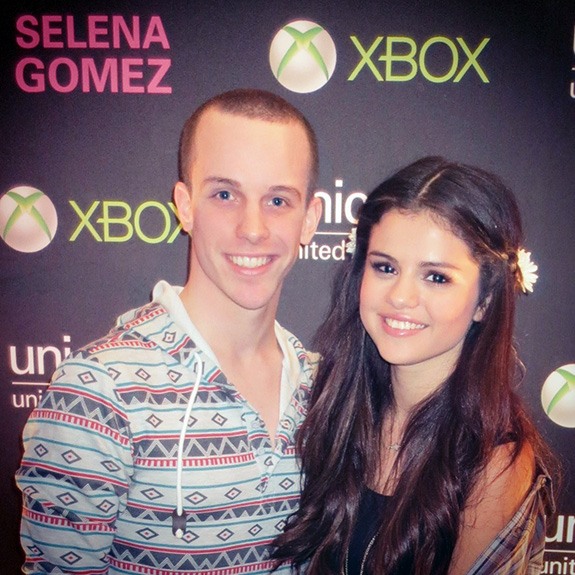 Selena Gomez and Alex Nagorski