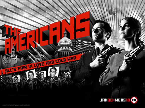 'The Americans' starts tonight on FX!