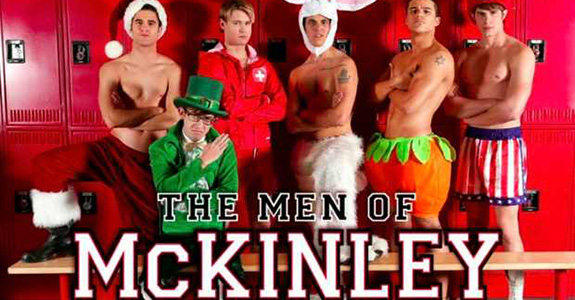 Glee&#039;s Men Of McKinley Calendar