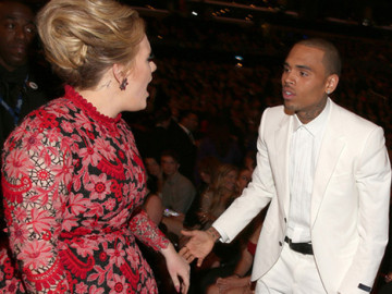 Adele has no love for Chris Brown