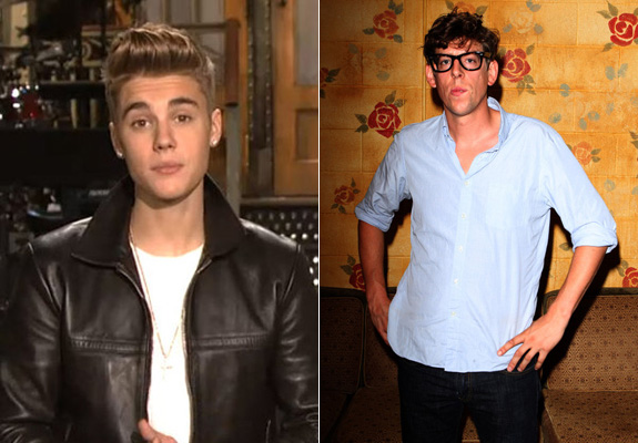 Justin Bieber and Patrick Carney