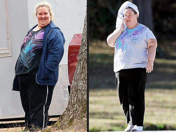 Honey Boo Boo's mom June dropped 100lbs!