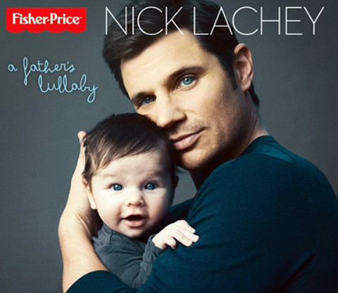 Nick Lachey and his son Camden