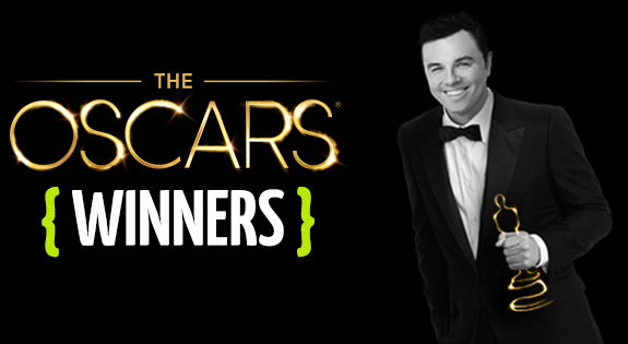 The 2013 Oscar winners are …