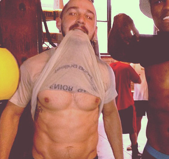 Holy crap, Shia LaBeouf got buff!