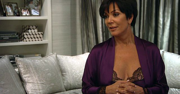 Oh No: Kris Jenner has a sex tape?!
