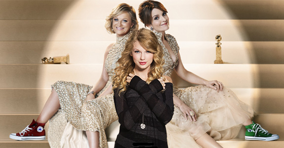 Tina Fey, Amy Poehler and Taylor Swift