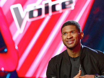 Usher is trying to find a new Justin Bieber … ugh!