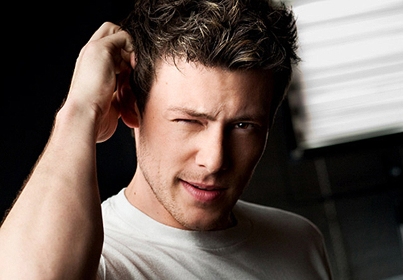 Just Because He's Cute: Glee's Cory Monteith!