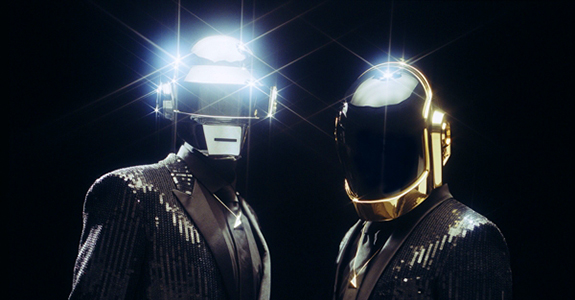 "It's time to ""Get Lucky"" with Daft Punk"