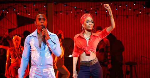Michelle Williams in Fela!