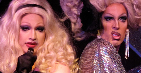 Jinkx Monsoon and Alaska Thunderfuck