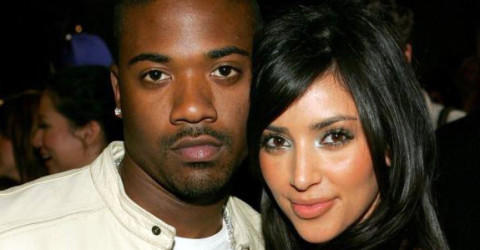 Ray J and Kim Kardashian