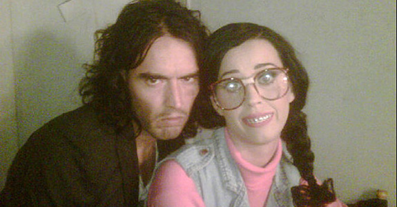 Russell Brand is comforting Katy Perry after her breakup?