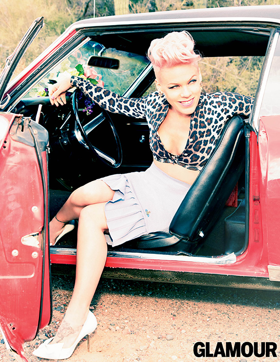 Pink (Glamour June 2013)