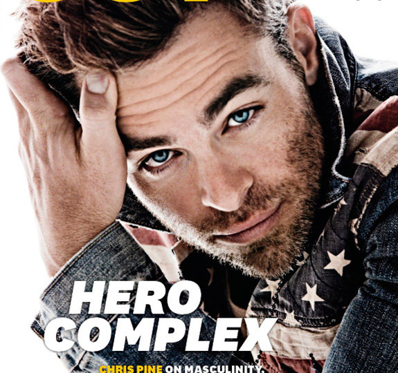 Gorgeous: Chris Pine covers OUT