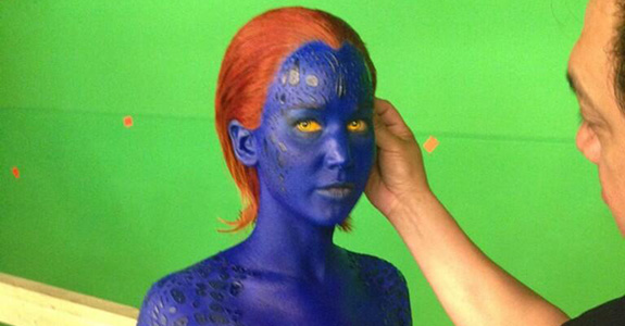 First Look: Jennifer Lawrence as Mystique