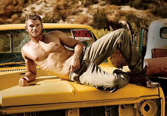 Kellan Lutz is single again! DIBS!