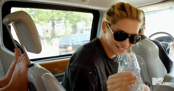 Video: Here's Ke$ha drinking her own pee!