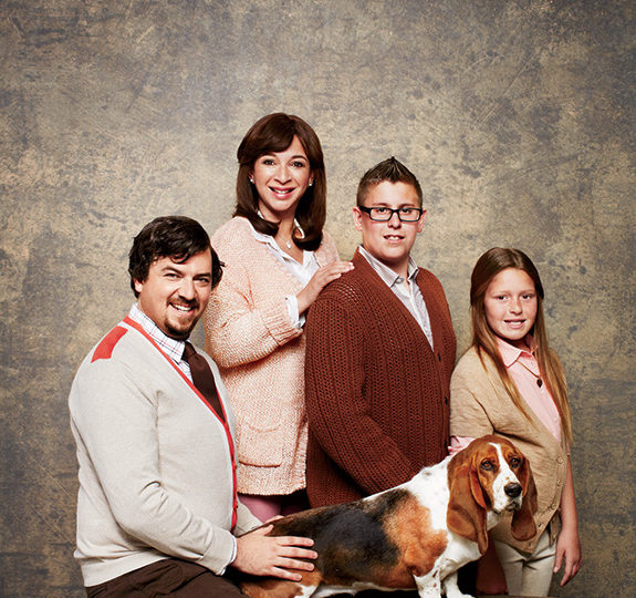 Awkward Family Photo: Maya Rudolph & Danny McBride