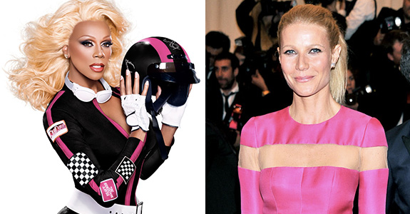 Gwyneth Paltrow compared herself to RuPaul?