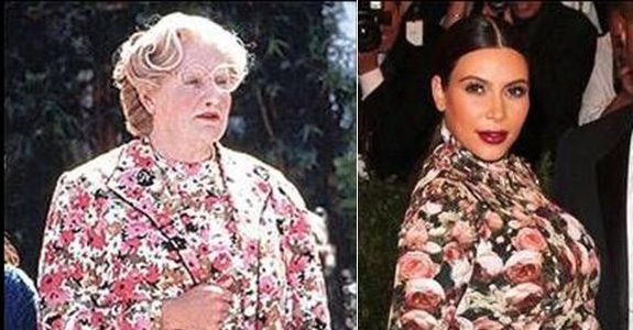 Robin Williams read Kim Kardashian for filth